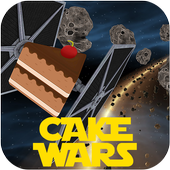 Asteroid Star Cake Wars icon