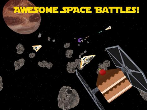 Asteroid Star Cake Wars apk screenshot
