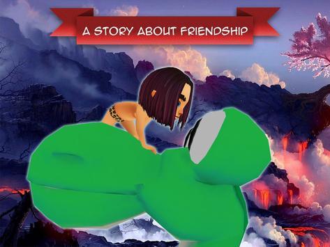 Fire Dino & Cave Boy Adventure poster
