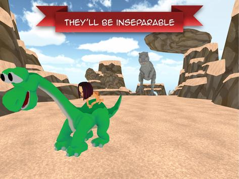 Fire Dino & Cave Boy Adventure apk screenshot