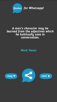 Quotes for WhatsApp apk screenshot