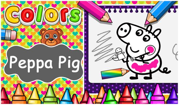 Coloring For Peppa Pig -Peppa Pig Coloring Book for Android - APK ...