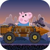 Peppa Hill Climb Racer : Pig icon