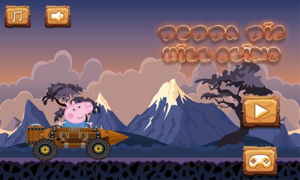 Peppa Hill Climb Racer : Pig poster