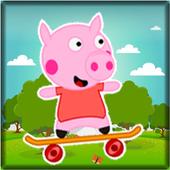 Peppa Happy Skate Pig icon