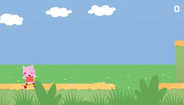 Peppa Happy Skate Pig screenshot 2