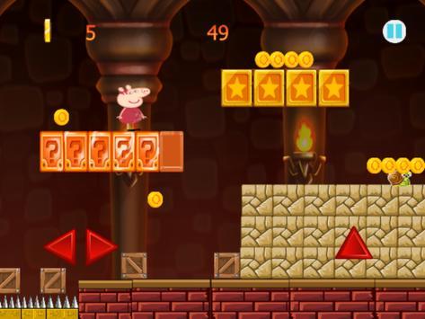 Pepa happy Pig Castle Run screenshot 3