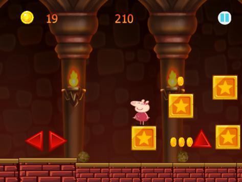 Pepa happy Pig Castle Run screenshot 1