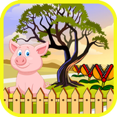 Peppie Pig Game Free Fun Toys icon