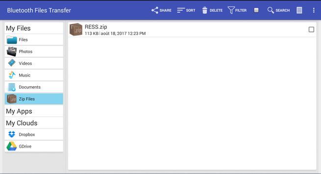 Bluetooth File Transfer screenshot 3