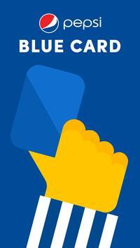 Pepsi Blue Card poster