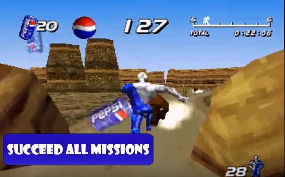 Tips New Pepsipman screenshot 2