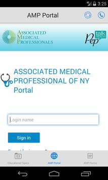 AMP Urology by Pep Talk Health apk screenshot