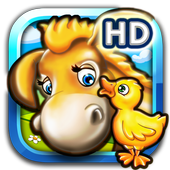 Animal puzzle for kids farm HD icon