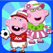 Pepy Pig Dress Up icon