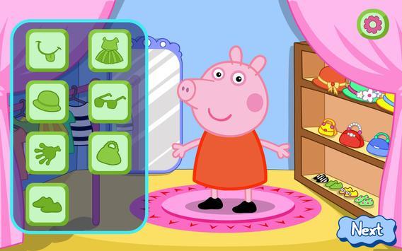 Pepy Pig Dress Up poster