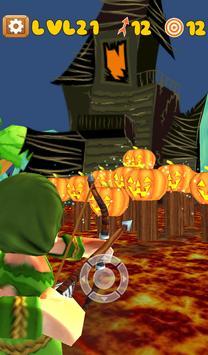 Haunted Archery Challenge - Halloween Archery Game apk screenshot
