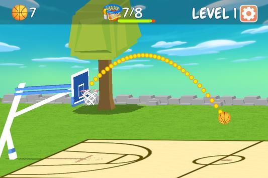 Basketball Hoops Master Challenge screenshot 1