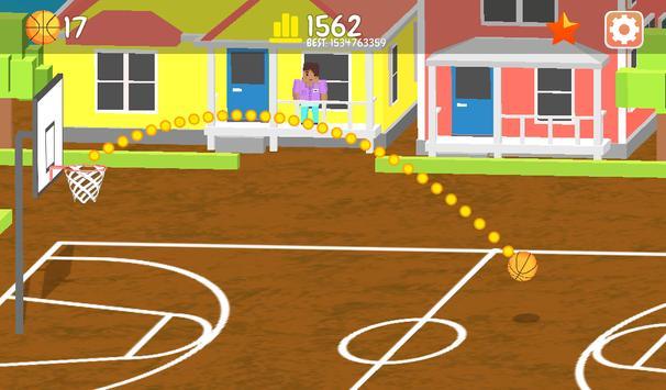 Basketball Master Challenge-Throw Ball into Basket apk screenshot