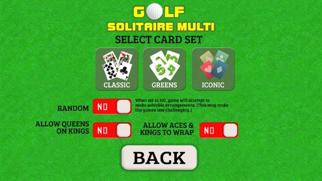 Golf Solitaire Multi screenshot 7