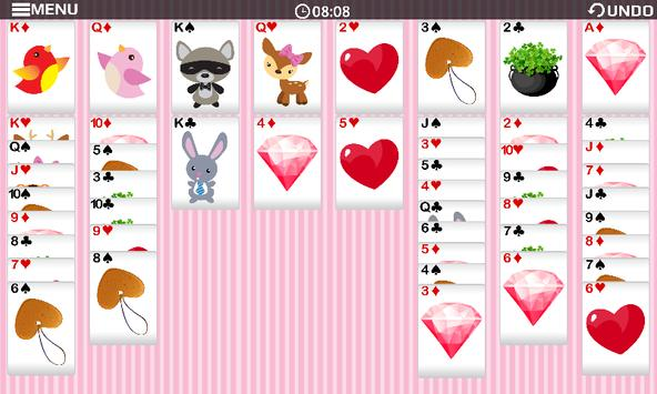 Freecell Valentine Game apk screenshot