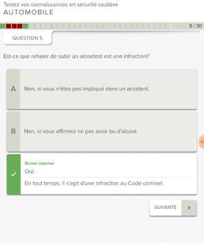 Québec Permis de Conduire screenshot 8
