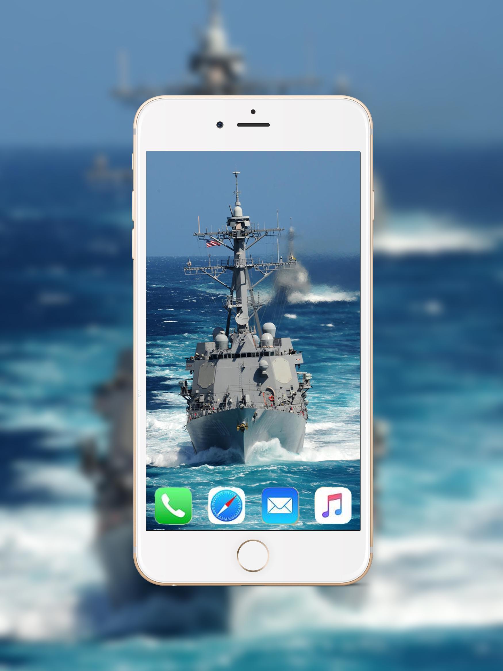... Navy Ships Wallpaper HD screenshot 2 ...