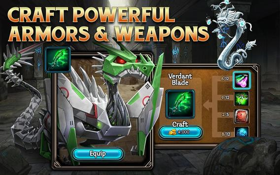 DragonSoul - Online RPG apk screenshot