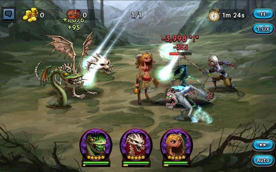 DragonSoul - Online RPG apk screenshot