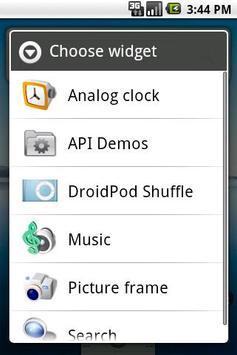 DroidPod Shuffle Blue screenshot 1