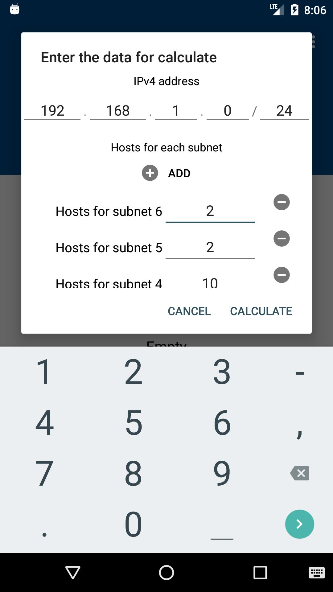 IPv4 Calculator Subnetting / VLSM for Android - APK Download