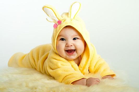 cute baby images hd poster