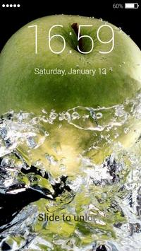 An Apple Lock Screen poster