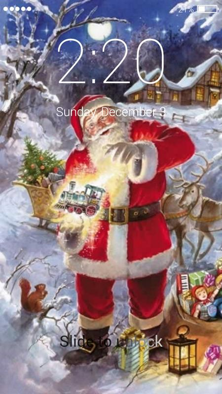 Beautiful Christmas Gifts Lock Screen for Android - APK Download