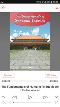 Master Hsing Yun's Collection Audio Book apk screenshot