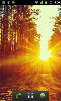 perfect sunrise live wallpaper apk screenshot