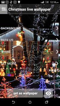 Christmas live wallpaper screenshot 1