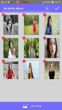 Cute Girl Collage Maker apk screenshot