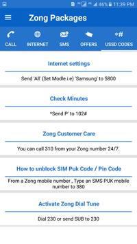 All Zong Packages Free screenshot 4