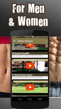 Perfect Abs Workout Videos apk screenshot