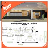 Modern House Plans icon