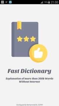 Fast Dictionary poster