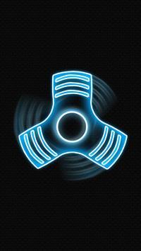 Fidget spinner glow screenshot 1