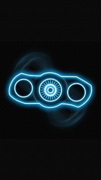 Fidget spinner glow screenshot 2