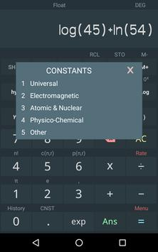 Calculatrice scientifique capture d'écran 8