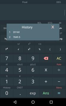 Kalkulator naukowy screenshot 9