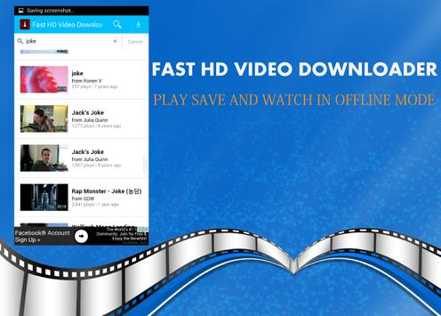 Fast HD Video Downloader poster