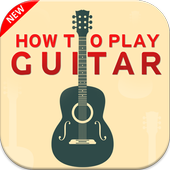 How to play guitar icon