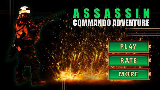 Assassin Commando Adventure 3D poster