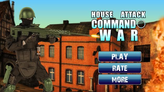 House Attack Commando War apk screenshot